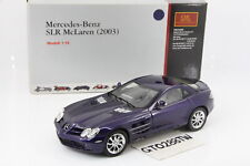 CMC 1:18 scale Mercedes-Benz SLR McLaren 2003 - Blue Metallic(M-045D)