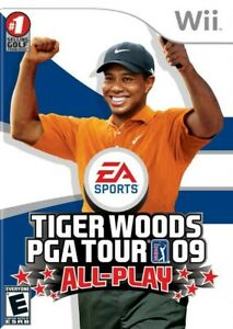 Tiger Woods PGA Tour 09: All-Play - Nintendo  Wii Game