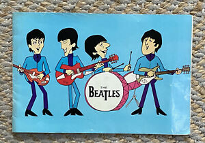 The Beatles Original Tour Programme 1965 Rare In Good Condition