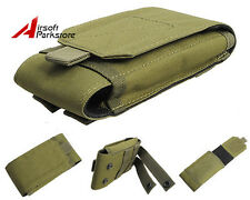 "5.5"" Tactical Military Molle Belt Cell Phone Pouch Case for iPhone6 Plus Green"