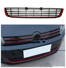 ABS Red Front Bumper Lower Grille Vent Hole  For Volkswagen Golf MK6 2009-2013