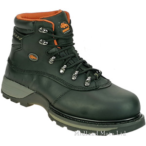 Steel Toe Cap Safety Boots by WORKFORCE Waterproof Hiker Style Safety WF2-P