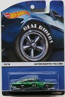 Hot Wheels 2015 Heritage Real Riders Aston Martin 1963 DB5