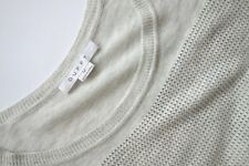Duffy Jumper, Perforated Jumper by Duffy, DUFFY Jumper, Duffy size M