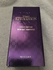 MISSHA Time Revolution Night Repair Borabit Ampoule 50ml, Anti-Aging Serum