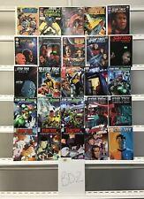Star Trek Idw 25 Lot Comic Book Comics Set Run Collection Box