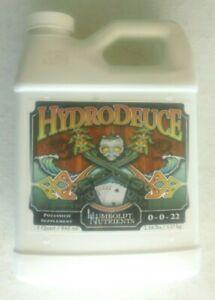 NEW 1 Quart Humboldt Nutrients Hydro Deuce Potassium Supplement 0-0-22