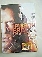 PRISON BREAK Season Three 3 New in Shrinkwrap