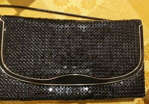 Black Glomesh Bag
