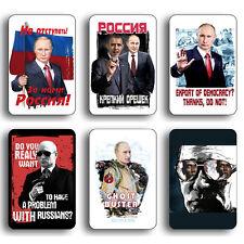 "PUTIN RUSSIAN PRESIDENT RUSSIA FRIDGE MAGNET SOUVENIR 3.74""x 5.57"" 1 of 33 photo"