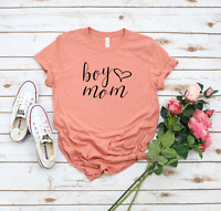 Boy mom Bella Canvas Graphic Tee Shirt Ladies T-Shirt Women Unisex