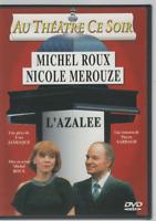 Au Theatre Ce Soir Dvd L'azalee Yves Jamiaque Michel Roux Nicole Merouze