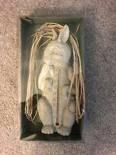 Standing Rabbit Garden Thermometer
