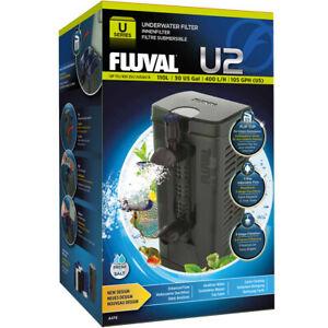 Fluval U2 Internal Filter Aquarium Fish Tank Underwater 110L 400L/h Fast Delive
