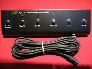 Trace Elliot AFC-6 Foot Controller, Footswitch Neu