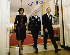 Sal Giunta Medal of Honor Afghanistan Korengal Valley SIGNED 8x10 AUTOGRAPH MOH