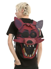 FNAF Five Nights at Freddy's Foxy Big Face Hot Topic Exclusive Backpack Book Bag