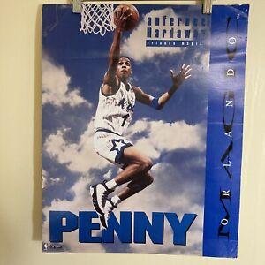 NBA BASKETBALL PENNY Anfernee HARDAWAY ORLANDO MAGIC Cardstock Thickness 16 X 20