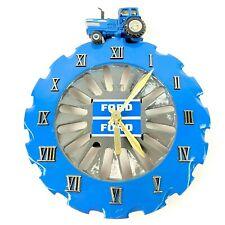 Clock 1983 Ford Tractors Equipment 1 of 500 Benner's Clocks F'Burg Ia Antique