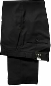 """MENS SMART TROUSERS NAVY & BLACK BRAND NEW WITH TAGS WAIST SIZES 32"""" to 50"""" INSI"""