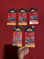 Ban Dai Mighty Morphin Power Rangers Spin Fighters Lot of 5 Different Sealed NIP