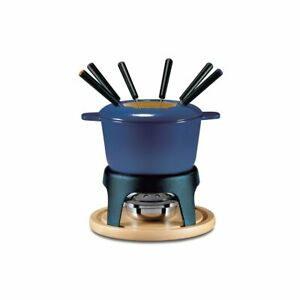 Swissmar Sierra 3-in-1 Fondue Set - Deep Blue