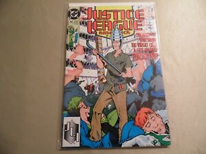 Justice League America #44 (DC 1990) Free Domestic Shipping