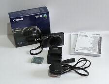 Canon Powershot SX620 HS Digital Compact Camera - NO SD Card - Boxed / Charger.