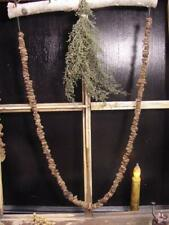 Primitive Early Style Spiced Raisin Garland/Swag