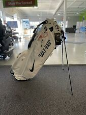 Nike Sport Lite Golf Bag Off White DIY With Zip Tie Stand Bag