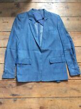 Acne Blake Denim Blue Two Button Jacket Size 36 / S