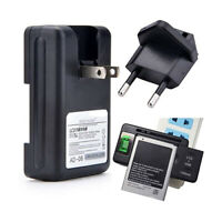 Lcd Screen Indicator Universal Phone Battery Charger Usb-port For Cell Phones Ch