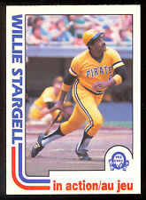 1982 TOPPS OPC O PEE CHEE BASEBALL 188 WILLIE STARGELL IA NM PITTSBURGH PIRATES
