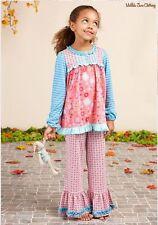 NWT Girls Matilda Jane Once Upon A Time Sleeping Beauty Pajama Set Ruffle Size 6
