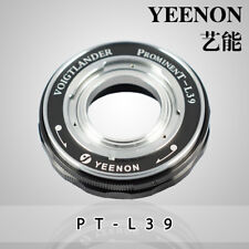 Yeenon VOIGTLANDER Prominent to Leica screw mount L39  Helicoid Adapter (Black)