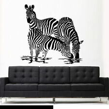 Wall Vinyl Sticker Bedroom Decal Modern Decal Zebra Animal Horse Equine (Z2614)