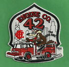 CHICAGO FIRE DEPARTMENT ENGINE COMPANY 42 PATCH