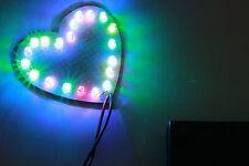 KIT di cuore: fr2 PERF Board, 20 LED ciclo lento Arcobaleno e supporto batteria (3xaa)