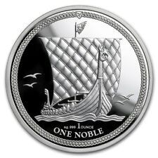1 Noble - Isle of Man - 1 oz Silber 2018 Premium Uncirulated - PP - Proof