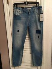 NWT Mavi Jeans Blue Cotton Light Wash Adriana Ankle Super Skinny Jeans Size 30