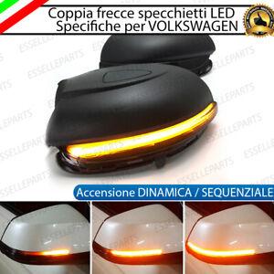 SET FRECCE SPECCHIETTI SPECCHI LED DINAMICHE PROGRESSIVE SCORREVOLE VW GOLF 6 VI