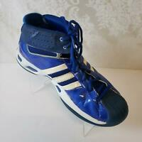 Adidas Mens Pro Model High Top Basketball Shoes Sz 12 Lace Up Blue