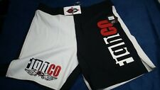 FightCo Alpha Mma combat shorts: Size 36 - white & black
