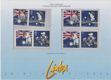 AUSTRALIA MNH 1988 SG1145-1148 BICENTENARY OF AUSTRALIAN SETTLEMENT + UK VERSION