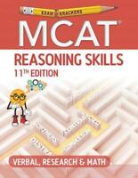 Examkrackers MCAT 11th Edition Reasoning Skills: Verbal, Research and Math