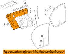 AUDI OEM 04-10 A8 Quattro Rear Door-Shell Frame Panel Left 4E4833051A