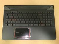 HX6 CyberpowerPC Fangbook Gaming Laptop Palmrest keyboard speakers touch pad