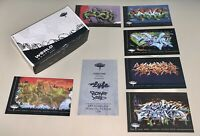 World Graffiti Limited Edition Cards - Complete Series 1 Set Of 21! OVERS, LYFE