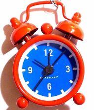 Kikkerland Classic Mini Alarm Mini Bell Red Blue Alarm Clock Key Chain Key Chain