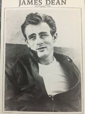 James Dean Postcard - Vintage - The Hollywood Collection